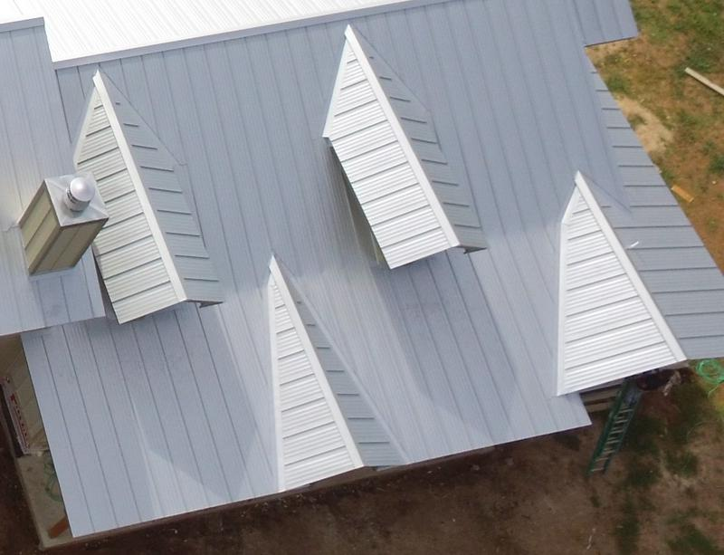 Standing Seam Double Lock Metal Roofing